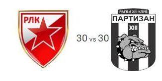 Црвена звезда - Партизан 30-30